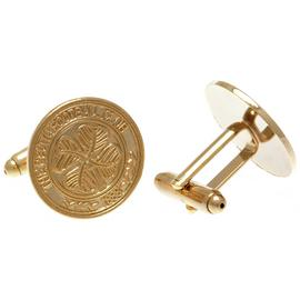 Gold Plated Celtic Cufflinks.