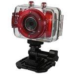more details on Vivitar DVR783HD Action Camera - Red.