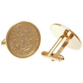 Gold Plated Leicester Cufflinks.