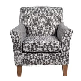 Argos Home Soren Fabric Accent Chair - Charcoal