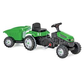 Pilsan Active Pedal Tractor with Trailer