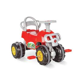 Pilsan Explorer Pedal AVT Quad Bike - Red