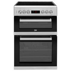 Beko KDC653S Electric Cooker - Silver