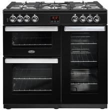 Belling Cookcentre 90G 90cm Gas Range Cooker - Black