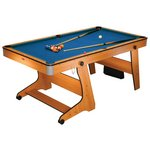 more details on BCE 6' Folding Pool & Table Tennis.