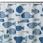 more details on HOME Mould Resistant Fish Shower Curtain.