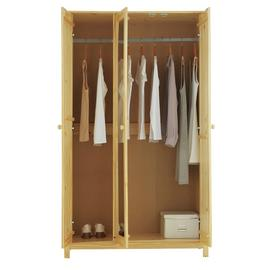 Argos Home Scandinavia 3 Door Mirror Wardrobe