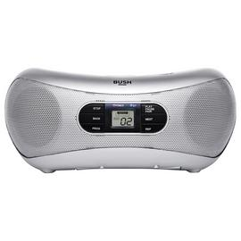 Bush Bluetooth Boombox - Silver