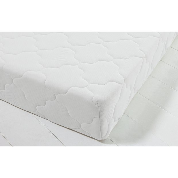 Argos Home Collect & Go Memory Foam Rolled Single Mattress