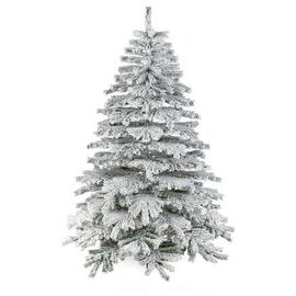 Premier Decorations 6ft Flocked Mountain Pine Christmas Tree