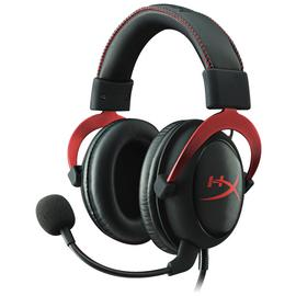 HyperX Cloud II PC, Xbox One, PS4 Headset - Red