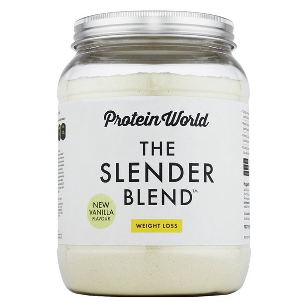 Buy Protein World Slender Blend 600g Vanilla At