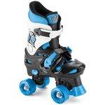 more details on Xootz Quad Skates XZ360B - Size 13-3.