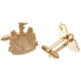 Gold Plated Newcastle United Cufflinks