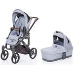 more details on ABC Design Mamba Plus Pushchair and Carrycot – Graphite Grey