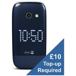 more details on O2 Doro 632 Mobile Phone - Blue and White.