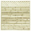 more details on Grange St Malo 1.8m Fence Panel - Pack of 4.