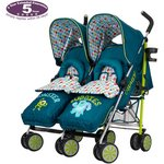 more details on Disney Monsters Inc. Twin Stroller with Footmuffs.