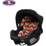 more details on OBaby Chase ZigZag Car Seat - Orange.