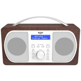 Bush DAB Radio - Walnut