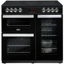Belling Cookcentre 90E 90cm Electric Range Cooker - Black