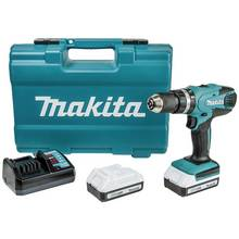 Makita G-Series Cordless Combi Drill 74Pc Set - 18V