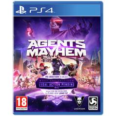 Agents of Mayhem PS4 Game