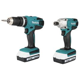 Makita G-Series 1.5Ah Combi Drill and Impact Driver - 18V