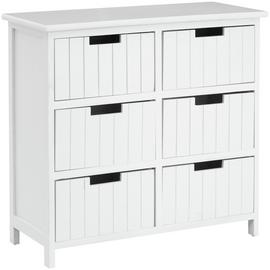 Premier Housewares New England Chest of Drawers - White
