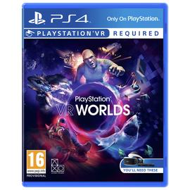 PlayStation VR Worlds PS4 Game