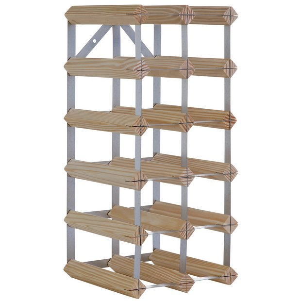 Buy Home 15 Bottle Wooden Wine Rack At Your
