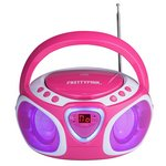 more details on Pretty Pink CD Boombox.