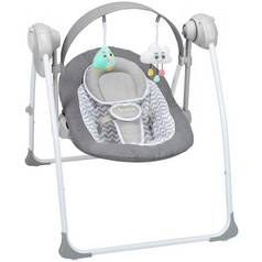 Badabulle Comfort Swing Bouncer - White/Grey