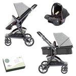more details on Baby Elegance Mist Travel System - Grey.