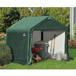 Shelter Logic Peak Style Storage Shed - 6 x 6ft