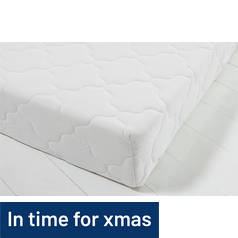 I-Sleep Collect and Go Memory Foam Rolled Kingsize Mattress