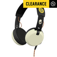 Skullcandy Grind Headphones with Taptech - ATG/Black/Cream