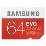 more details on Samsung 64GB Evo Plus SD Flash Card
