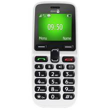 Sim Free Doro 5030 Candy Bar Mobile Phone – White
