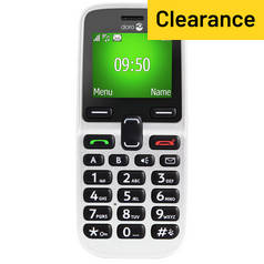SIM Free Doro 5030 Candy Bar Mobile Phone ? White