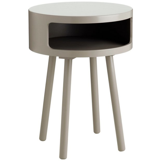 Buy habitat bumble side table grey at argoscouk your for Coffee table uk online