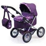 more details on Bayer Dolls Pram Trendy Purple Patterned.
