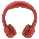 more details on Headfoams HF-BT100 Kids Bluetooth On Ear Headphones - Red.