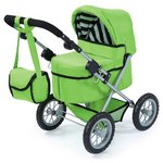 more details on Bayer Dolls Pram Trendy Green.