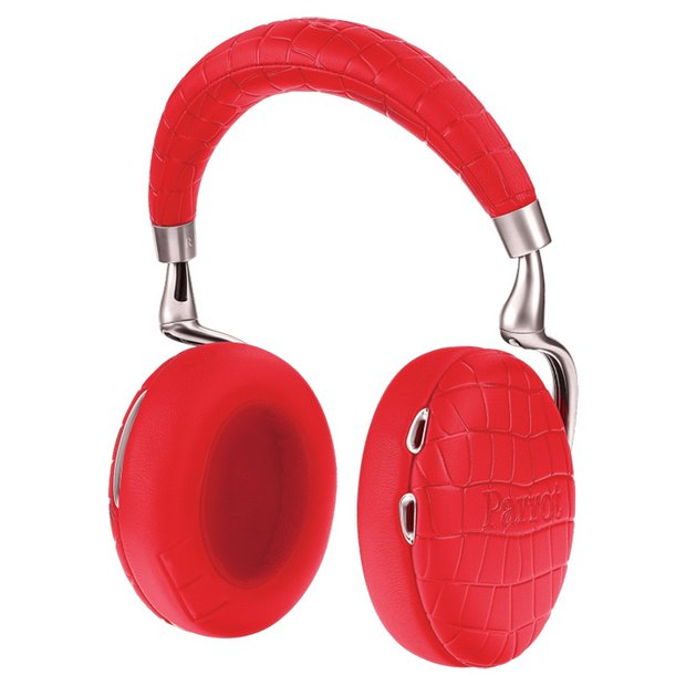 buy parrot zik 3 wireless bluetooth headphones red at. Black Bedroom Furniture Sets. Home Design Ideas