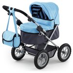 more details on Bayer Dolls Pram Trendy Blue.