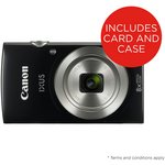 more details on Canon Ixus 177 20mp 8x Zoom Compact Digital Camera - Black.