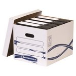 more details on Fellowes Bankers Box Basic Storage Box - White.