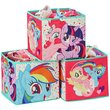 more details on My Little Pony Storage Box Cubes.