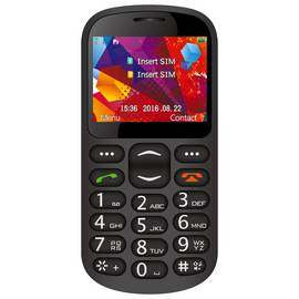 SIM Free Alba Big Button Mobile Phone - Black
